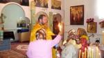 16 апреля 2012 г. – Благодатный Огонь прибыл в храм Казанской Иконы Божией Матери хут. Кавалерский Егорлыкский район